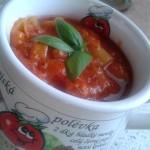 Paprikovo-rajská polévka
