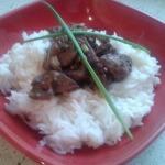 Králíčí játra s basmatti rýží