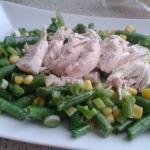 Kuřecí prsa na restované zelenině