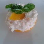 Broskvový dezert s meruňkovým šmakounem