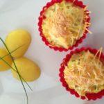 Květákové muffinky