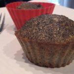 Makové muffinky bez mouky
